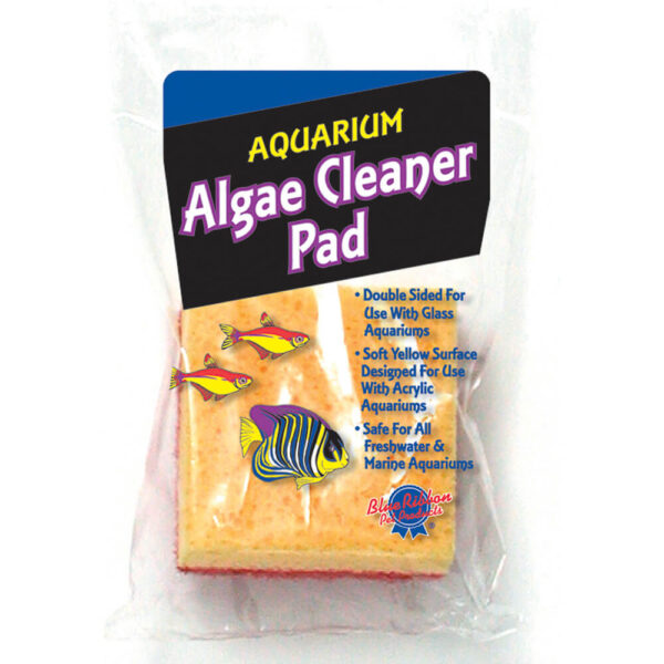 703 - Aquarium Supplies - Algae Cleaner Sponge Double Sided