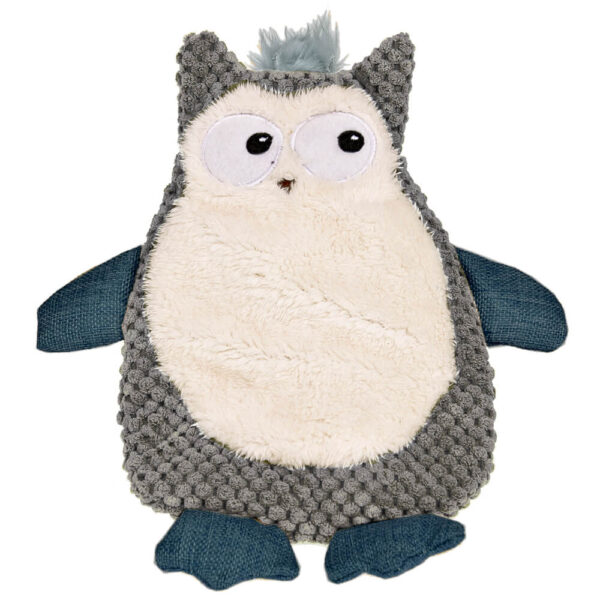 DTP-132-GY - Plushables® Natra Buddies® - Owl - Grey