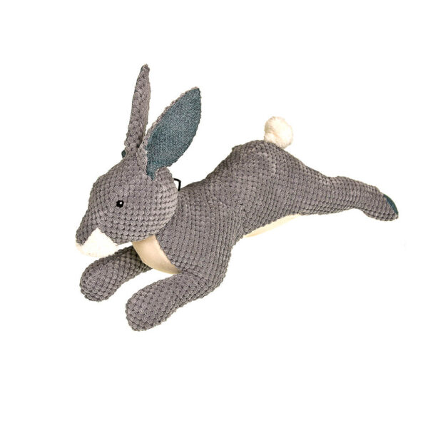 DTP-133-GY - Plushables® Natra Buddies® - Bunny Large - Grey