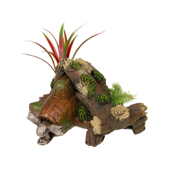 EE-1018 - Exotic Environments® Jungle Plant Wreck w/ Plants