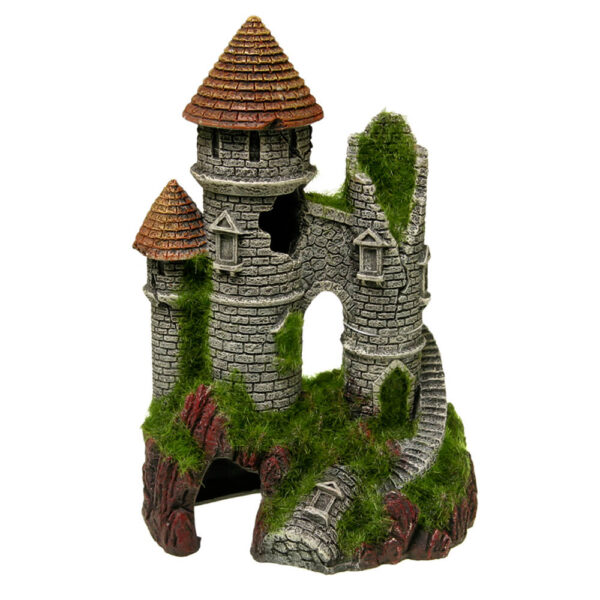 EE-1124 - Exotic Environments® Mountain Top Citadel with Moss