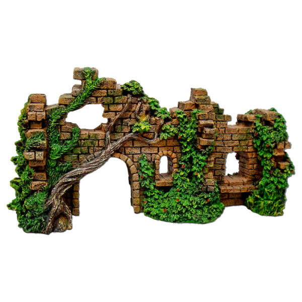 EE-124 - Exotic Environments® Cobblestone Castle Walls with Ivy
