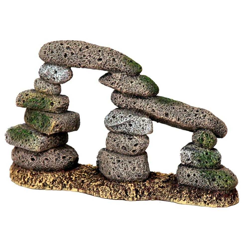 Декор из камней в аквариуме своими руками 97