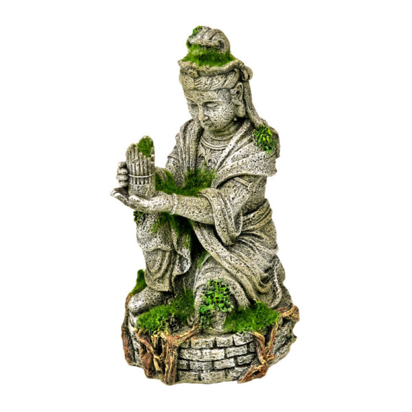 EE-696 - Exotic Environments® Ancient Buddha Statue with Moss