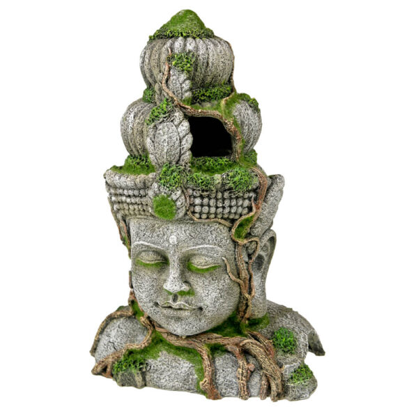 EE-697 - Exotic Environments® Cambodian Warrior Statue with Moss